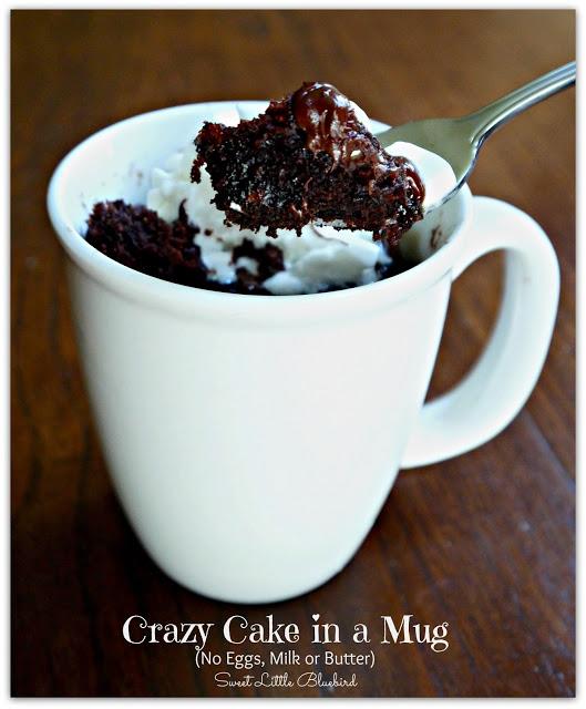 Microwave Crazy Wacky Cake in  Mug recipe 2