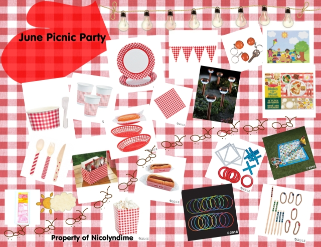 june picnic party