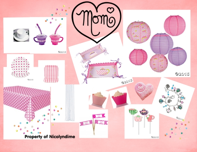 mothers day tea vision board