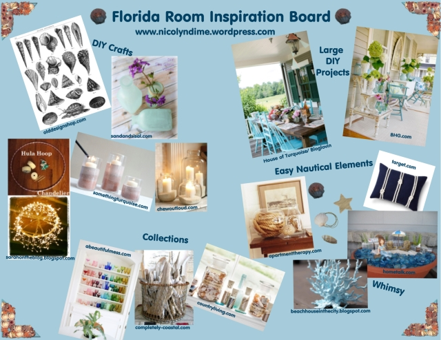 florida room inspo board